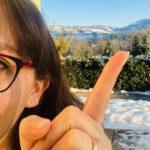 neige sur montagne et Défi Orthographique